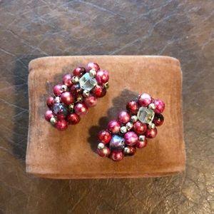 Vintaged bead earrings
